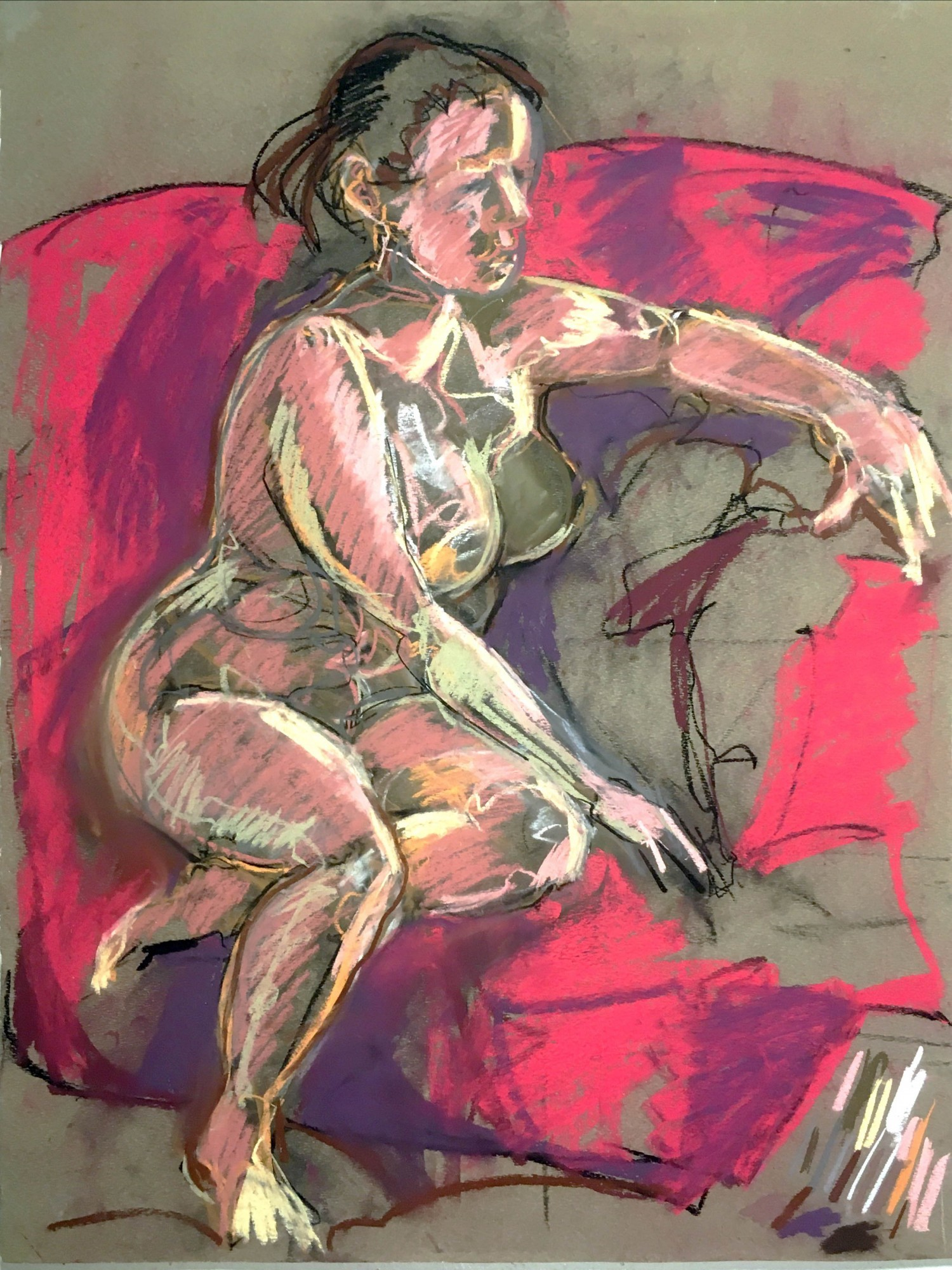 Untitled Figure Drawing (#39 2005)